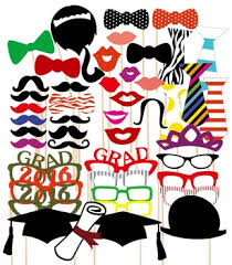 photo booth props diy party gifts photo booth props 46pcs hat mustache on a stick