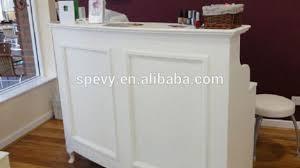 White Reception Desk For Sale Awesome Salon Reception Desks Within White L Shape Moulded Panel