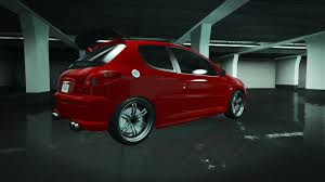 peugeot 206 gti peugeot 206 gti add on tuning oiv gta5 mods com