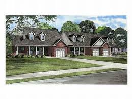 Multi Family House Plans Triplex Multi Family House Plans Triplexes U0026 Townhouses U2013 The House Plan Shop