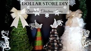 diy decorative christmas trees dollar store diy cute u0026 easy