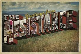 greetings from the resistance postcard peace supplies