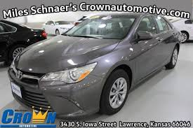 2015 Camry Le Interior Used One Owner 2015 Toyota Camry Le Lawrence Ks Crown Toyota