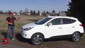 hyundai crossover 2014 detailed review 2014 hyundai tucson on everyman driver youtube
