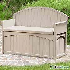 Outside Storage Bench Amazing Resin Patio Storage Bench Suncast Patio Storage Bench