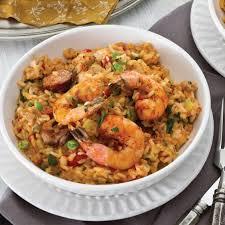 cuisine of louisiana chicken andouille and shrimp jambalaya louisiana cookin