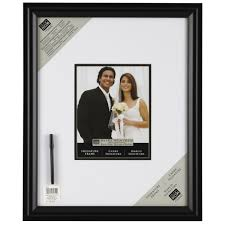 wedding autograph frame studio décor signature frame with marker