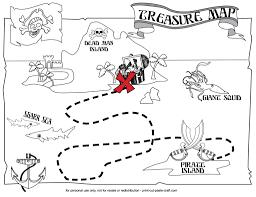 Treasure Map Blank by Print Cut Paste Craft Blog Archive Printable Treasure Map Print