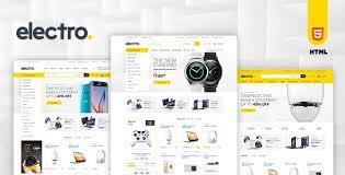 electro electronics ecommerce html template website templates