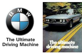 tagline of bmw the driving caign