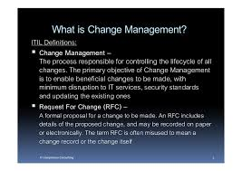 what is chagne made of change management overview