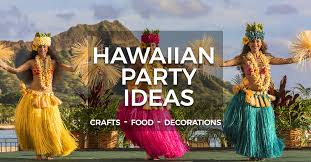 hawaiian party ideas hawaiian party ideas crafts food and decorations partyrama