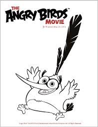 angry birds movie trailer coloring pages u0026 activity sheets