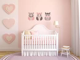 pochoir chambre fille pochoir hibou enfant pour tissus meubles galerie et pochoir chambre