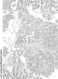 free printable coloring pages for adults landscapes landscape coloring page 15 coloring pages pinterest