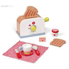 toaster kinderküche toaster picnik für die kinderküche janod einkaufen auf greenweez