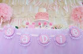 baby shower ideas girl and everything sweet pretty in pink baby shower