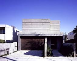 concrete and glass house modern city villa by arrcc images with