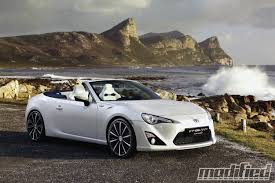 frs scion modified scion fr s drop top turbo model nixed modified magazine