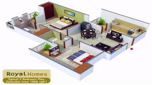 house plans 2 bedroom modern house plans 2 bedroome plan small one room apartment
