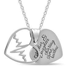 mother necklace images Mother day gift 925 sterling silver mother daughter jpg