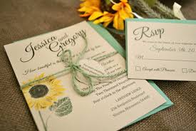 Wedding Invitation Card Maker Inspiring Album Of Sunflower Wedding Invitations To Inspire You