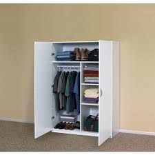 wardrobe amazon com solid closet storage wardrobe armoire
