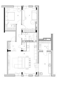 Bedroom Floor Plan Two Modern Homes With Rooms For Small Children With Floor Plans