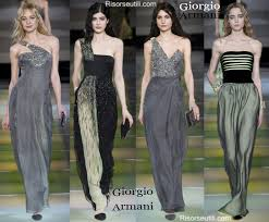 clothing giorgio armani fall winter 2014 2015 womenswear
