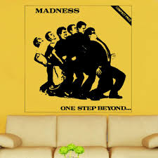 madness one step beyond decal vinyl wall sticker al5