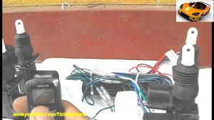 vehicle central lock remode systems lock u0026 unlock actuator