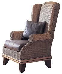isla wingback chair wicker lounge chair rattan armchair rattan lounge chair indoor