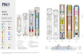 pacific aria deck plans cruise ship layout