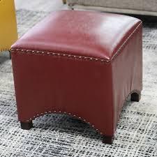 Storage Ottoman Stool by Sofa Orange Ottoman White Leather Ottoman Ottoman Cushions Black