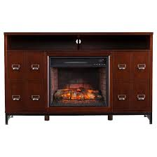 Infrared Electric Fireplaces by Rafie Infrared Electric Fireplace Media Stand Espresso Aiden