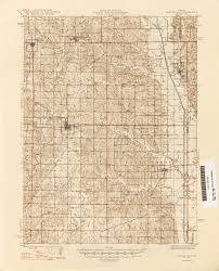 Map Of Springfield Mo Missouri Historical Topographic Maps Perry Castañeda Map