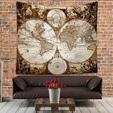 Old World Map Wallpaper by Antique World Map Wall Tapestry Ancient World Map Wall Hanging