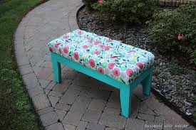 diy upholstered bench november u0027s fffc contest sponsored by