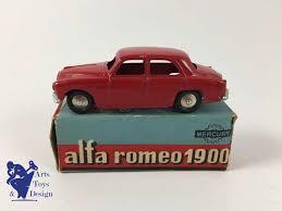 siege social alfa romeo antique die cast mercury 16 italy alfa romeo 1900 with box