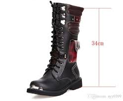 s lace up combat boots size 11 leather boots for combat rock s knee high