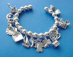 bead bracelet with charm images Jewelry by rhonda sterling silver charm bracelets great gift JPG