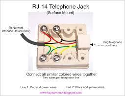 wiring diagram old phone jack wiring diagram wires old phone