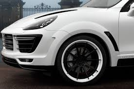 porsche cayenne 2016 white topcar shows off white porsche cayenne vantage 2015 kit