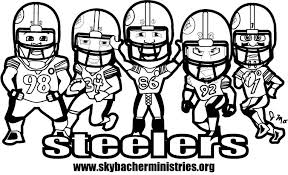 nfl football helmet coloring pages steelers clipart 79