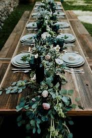 emerald green table runners 34 creative table runner ideas for your wedding reception abby lee