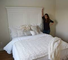 ana white build a tall panel headboard queen free and easy