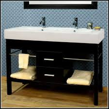 Double Trough Sink Bathroom Double Trough Sink Bathroom Vanity Sinks And Faucets Home