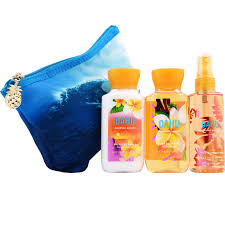 bath body works oahu coconut mini ritual cosmetic bag bath body works oahu coconut mini ritual cosmetic bag signature collection beauty health shop the exchange