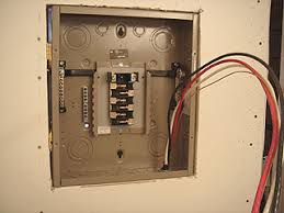 how to install and wire a cutler hammer sub panel diy old house