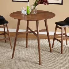 mid century bistro table simple living axel mid century pub table home envy pinterest